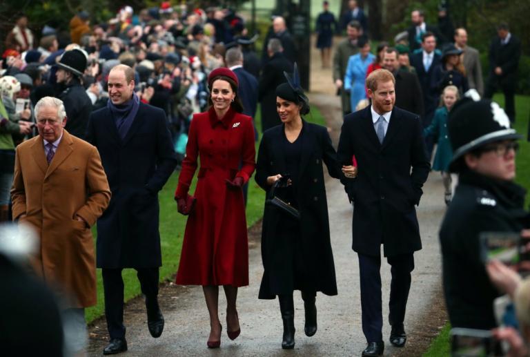 Μέγκαν Μαρκλ και Κέιτ Μίντλετον πέρασαν τα Χριστούγεννα μαζί με την Βασίλισσα Ελισάβετ