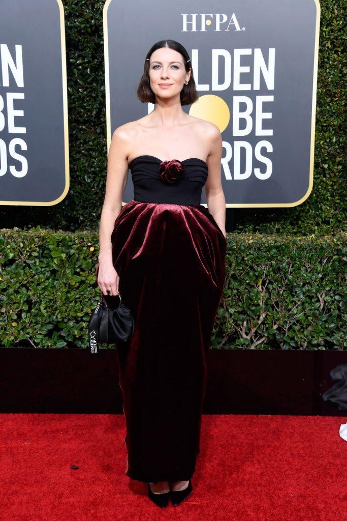 Η Caitriona Balfe με Moschino Couture