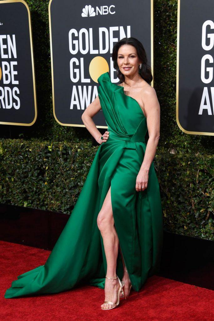 Η Catherine Zeta-Jones με Elie Saab Haute Couture gown και Lorraine Schwartz jewelry