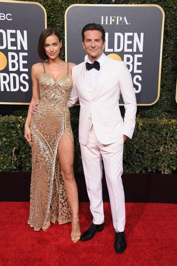 Η Irina Shayk με Versace και ο Bradley Cooper με Gucci