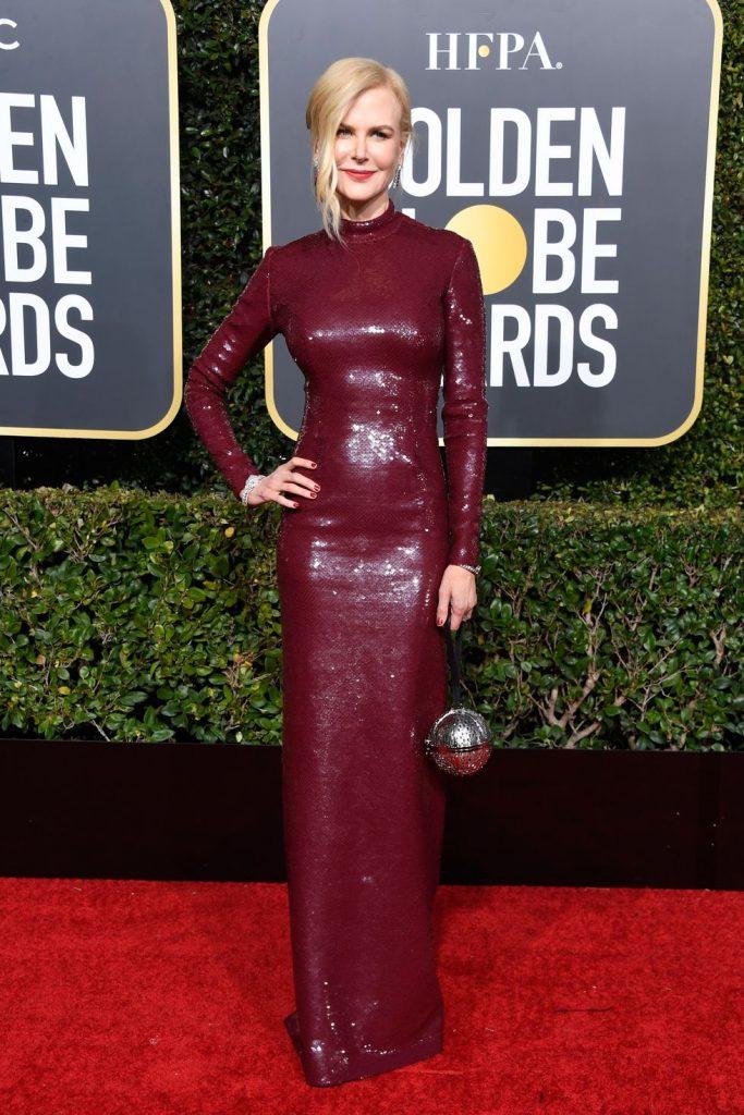 Η Nicole Kidman με Michael Kors Collection dress και Jennifer Behr jewelry