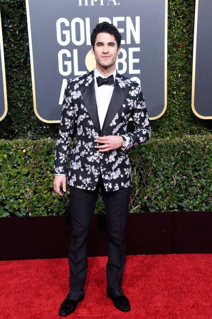 Ο Darren Criss με Dior