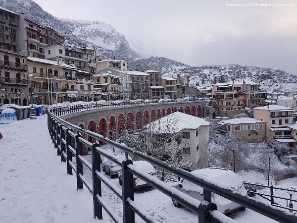 Χιονίζει σε όλη την Ελλάδα , Έκτακτο Δελτίο Επικίνδυνων Καιρικών Φαινομένων