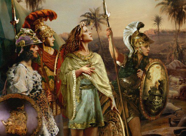Τόσο Διαφορετικές…. Τόσο Γυναίκες : Θεές, Αμαζόνες, Εταίρες, Σύζυγοι