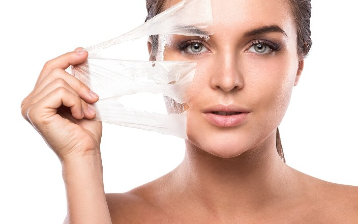 Peeling για νεανικό δέρμα χωρίς ρυτίδες