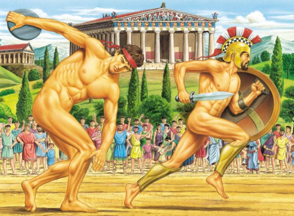 Ο σκοπός της άσκησης στον αρχαίο κόσμο
