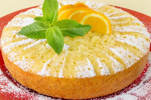 Πορτοκάλι κέικ