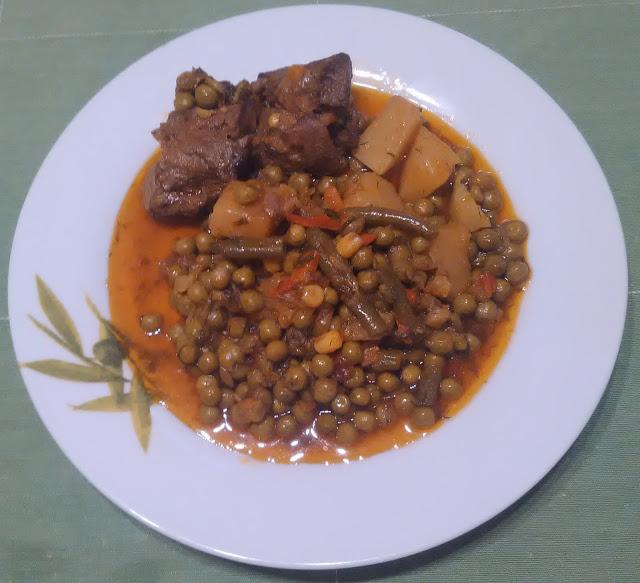 Αρακάς με βοδινό
